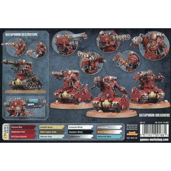 Warhammer 40K - Adeptus Mechanicus - Kataphron Battle Servitors