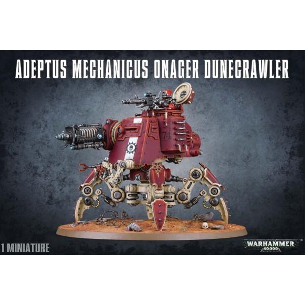 Warhammer 40K - Adeptus Mechanicus - Onager Dunecrawler