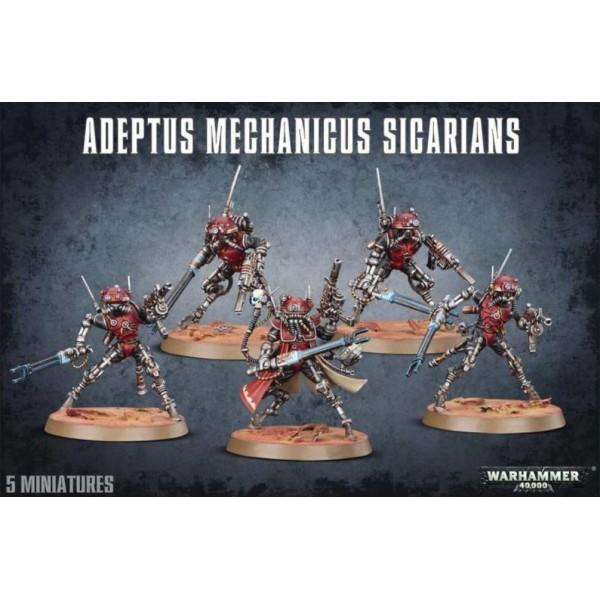 Warhammer 40K - Adeptus Mechanicus - Sicarian Infiltrators / Ruststalkers