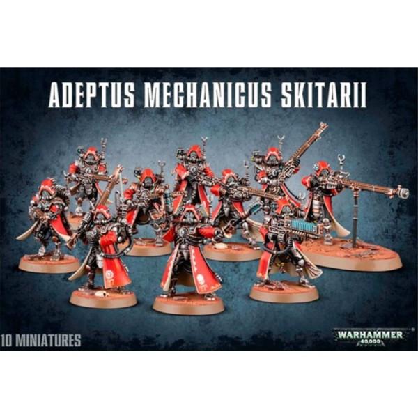 Warhammer 40K - Adeptus Mechanicus - Skitarii Rangers / Vanguard