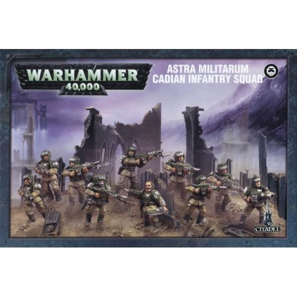 Warhammer 40K - Astra Militarum - Cadian Shock Troops / Infantry Squad