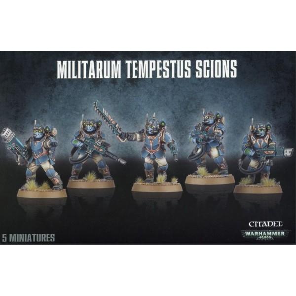 Warhammer 40k - Astra Militarum - Militarum Tempestus Scions / Command Squad