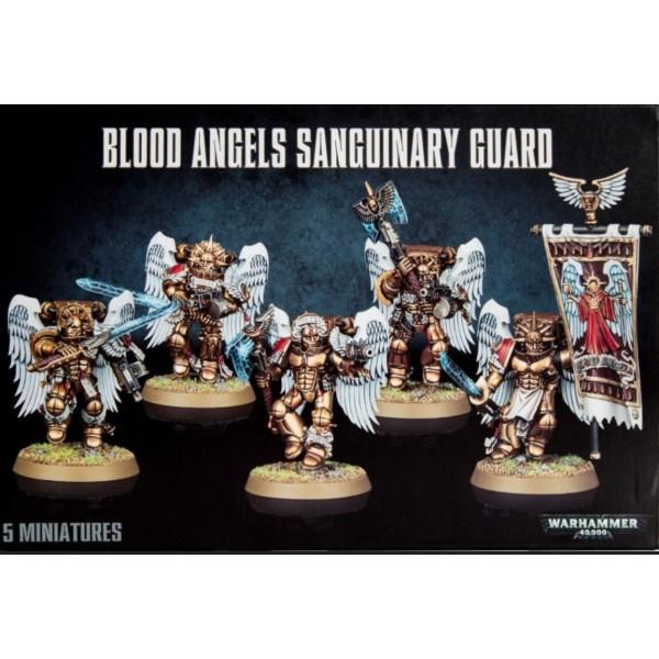Warhammer 40k - Blood Angels: Sanguinary Guard 2014