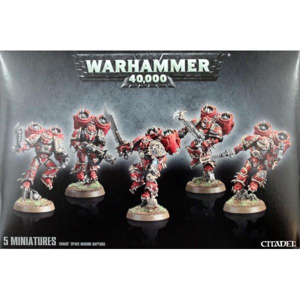 Warhammer 40k - Chaos Marines - Raptors / Warp Talons