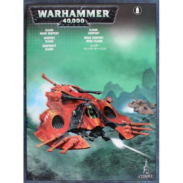 Warhammer 40k - Craftworlds - Wave Serpent