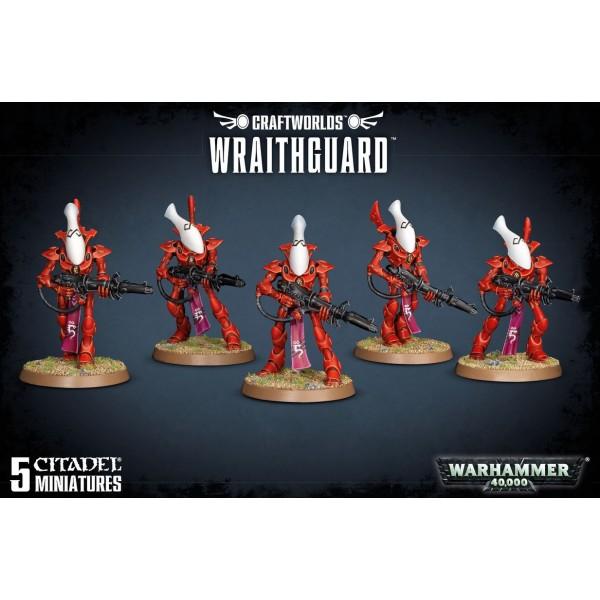 Warhammer 40k - Craftworlds - Wraithguard / Wrathblades
