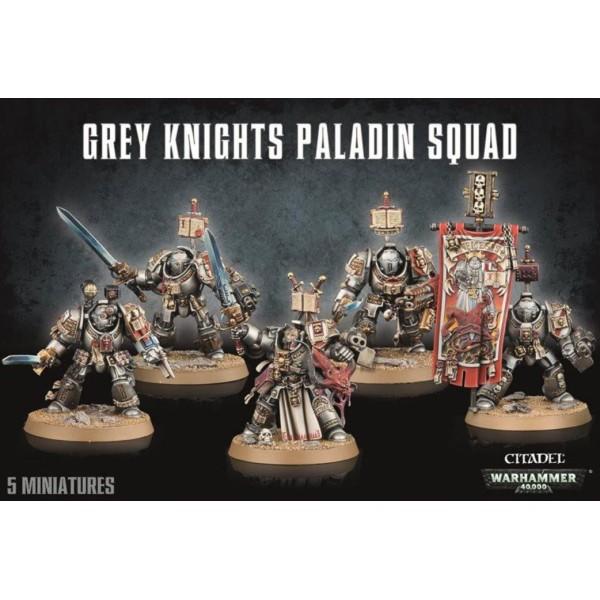 Warhammer 40k - Grey Knights - Paladins / Terminators