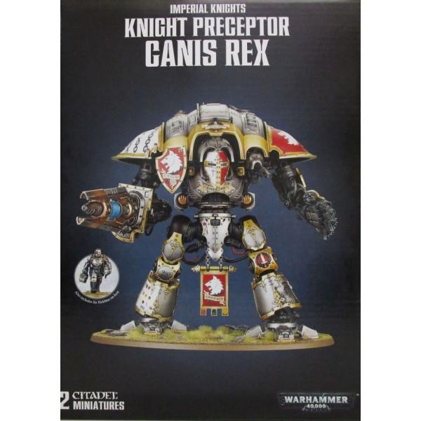 Warhammer 40K - Imperial Knights - Knight Preceptor Canis Rex