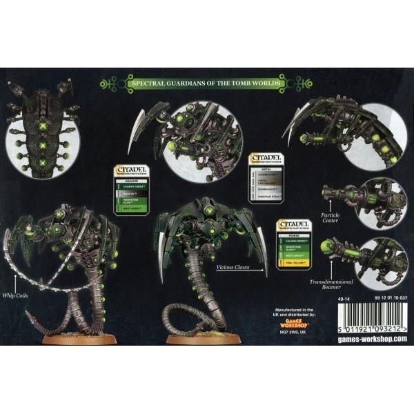 Warhammer 40k - Necrons - Canoptek Wraiths