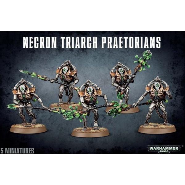 Warhammer 40k - Necrons - Triarch Praetorians / Lychguard