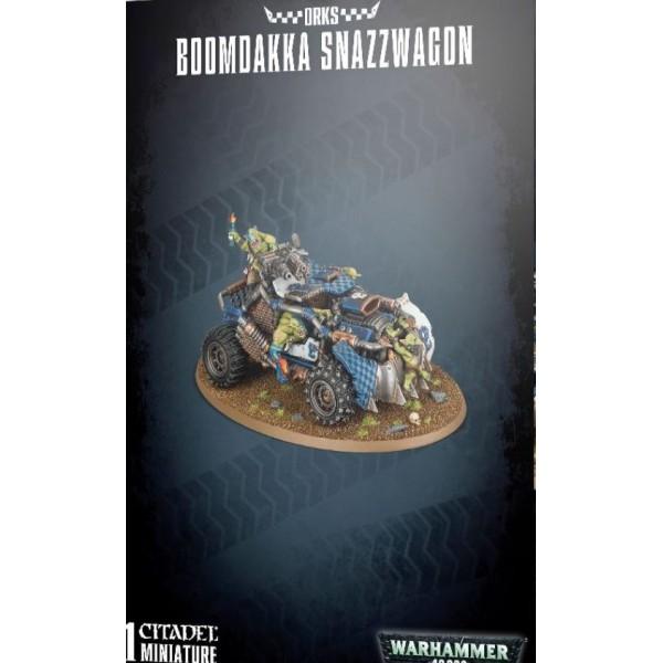Warhammer 40k - Orks - Boomdakka Snazzwagon