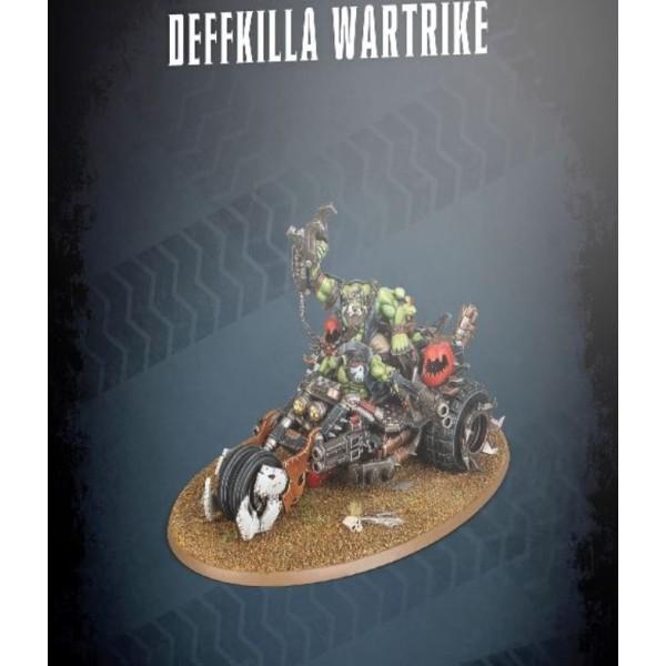 Warhammer 40k - Orks - Deffkilla Wartrike