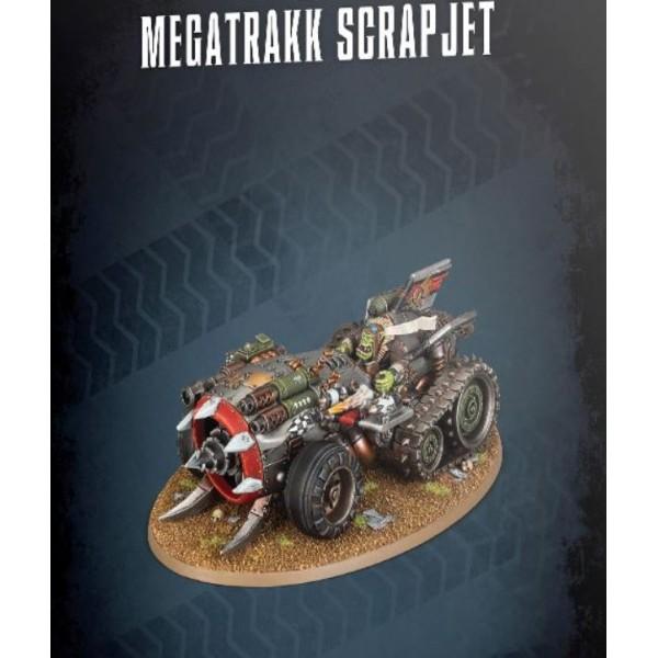 Warhammer 40k - Orks - Megatrakk Scrapjet