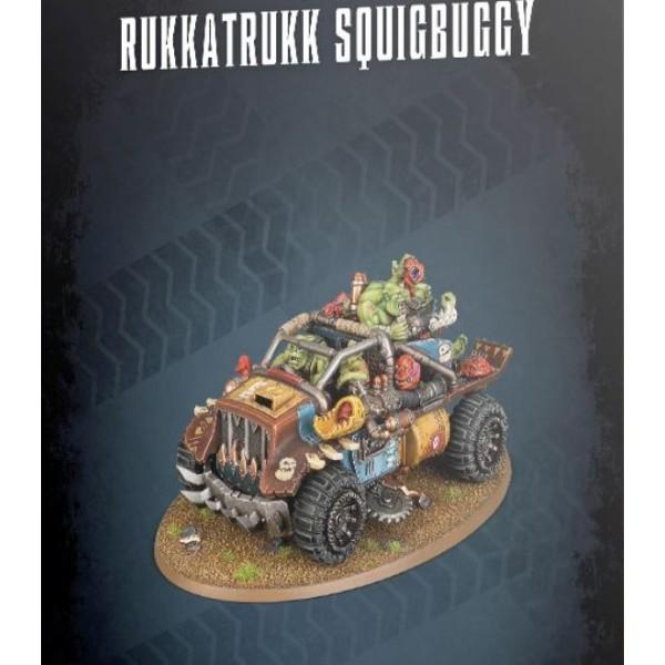 Warhammer 40k - Orks - Rukkatrukk Squigbuggy