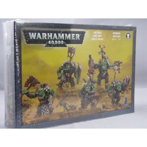 Warhammer 40k - Orks - Nobz (25mm bases)