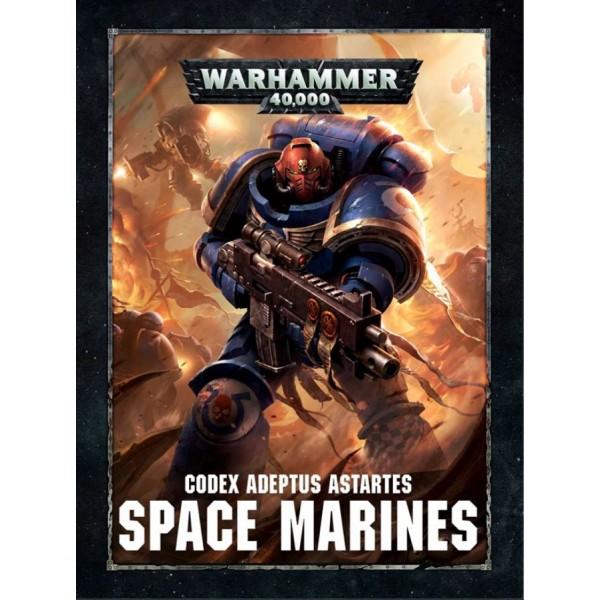 Warhammer 40K - Codex - Space Marines (2017)