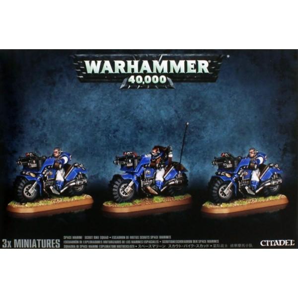 Warhammer 40k - Space Marines - Marine Bike Squad (2017)