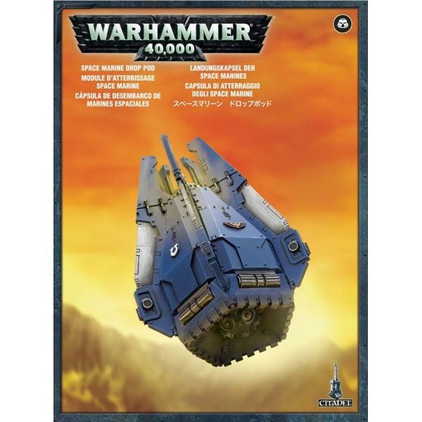 Warhammer 40K - Space Marines - Drop Pod