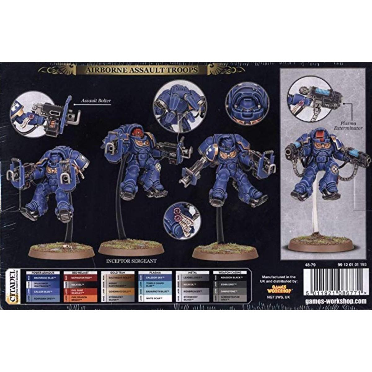 Games Workshop 99120101193 Space Marines Primaris Inceptors Plastic Kit