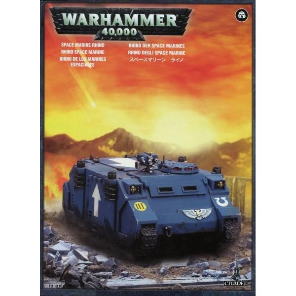 Warhammer 40K - Space Marines - Rhino
