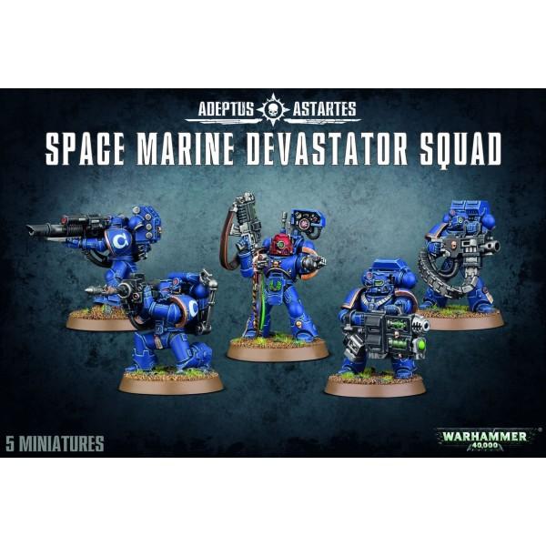 Warhammer 40K - Space Marines - Devastator Squad 2015