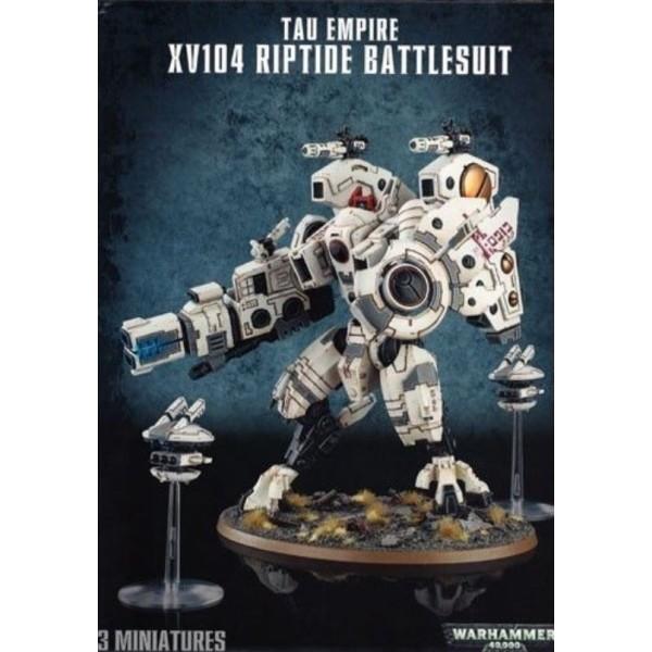 Warhammer 40k - Tau Empire - XV104 Riptide Battlesuit