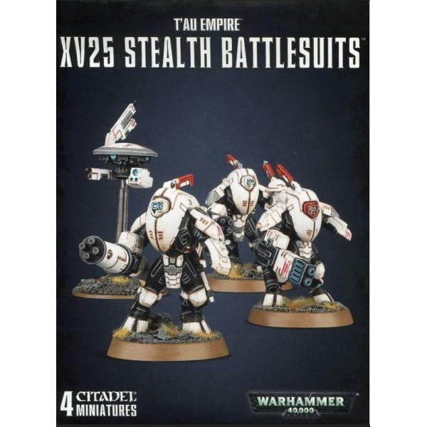 Warhammer 40k - Tau Empire - XV25 Stealth Battlesuits