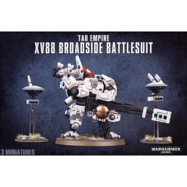 Warhammer 40k - Tau Empire - XV88 Broadside Battlesuit