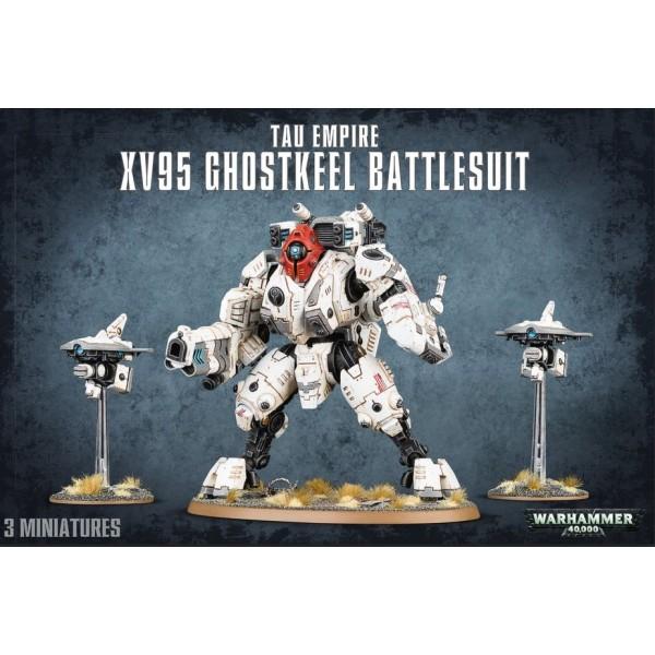 Warhammer 40k - Tau Empire - XV95 Ghostkeel Battlesuit