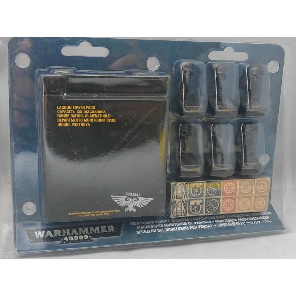 Warhammer 40k - Munitorum Vehicle Markers (Clearance)