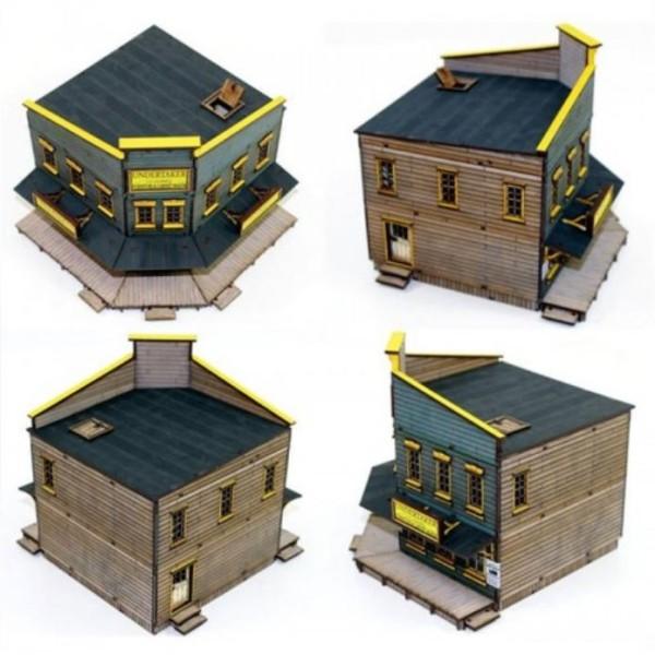 4Ground Terrain - Wild West - Feature Building - The Undertaker