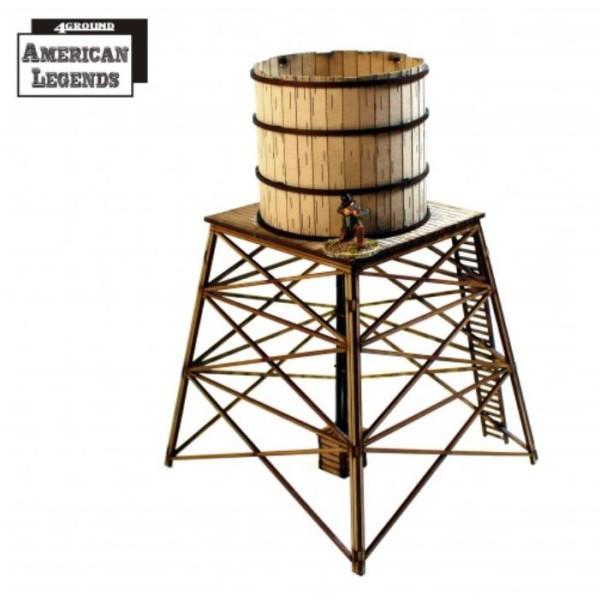4Ground Terrain - Wild West - Feature Building - Water Tower