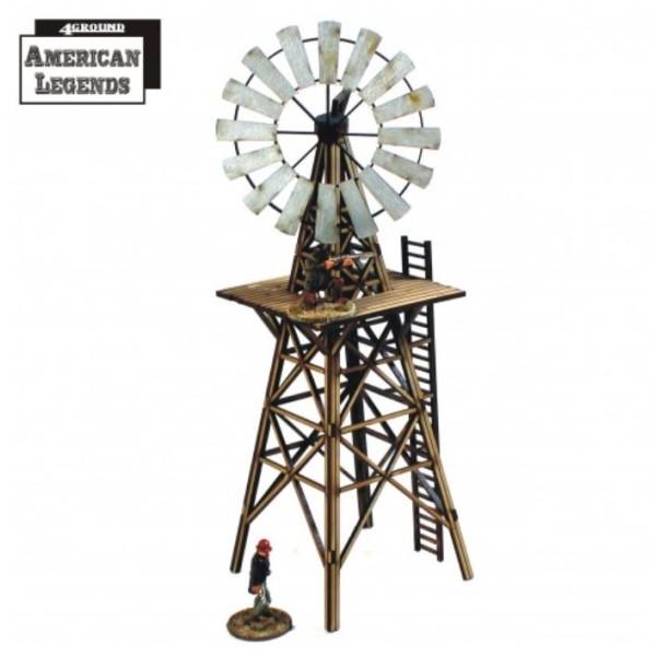 4Ground Terrain - Wild West - Feature Building - Windmill