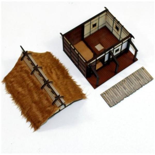 4Ground Pre-Painted Terrain - Edo Japan - Peasant Smallholder's Dwelling