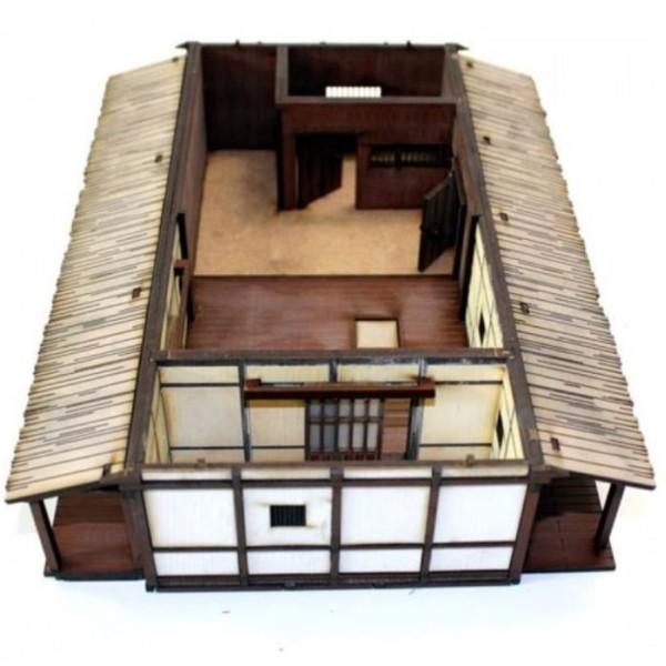 4Ground Pre-Painted Terrain - Edo Japan - Village Elder's House
