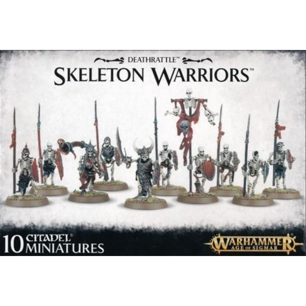 Age of Sigmar - Deathrattle - Skeleton Warriors