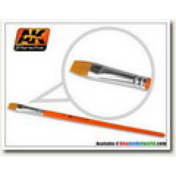 AK Interactive - Flat Brush 2 Synthetic