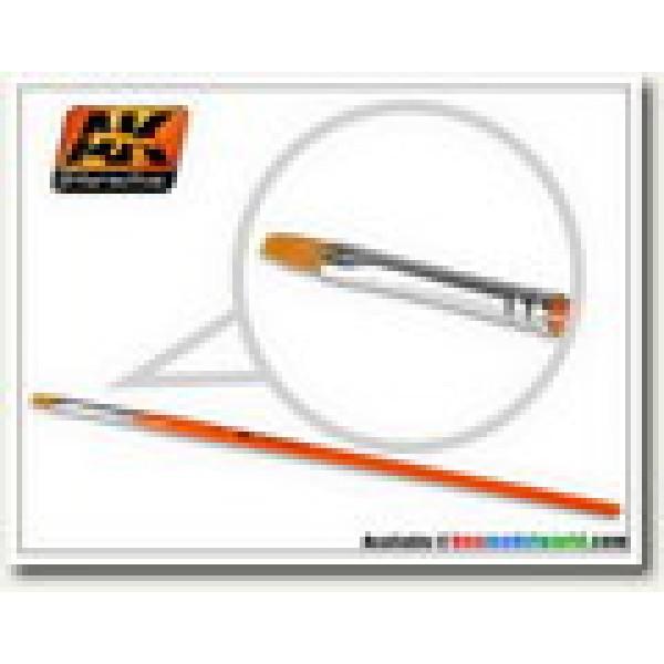 AK Interactive - Flat Brush 4 Synthetic