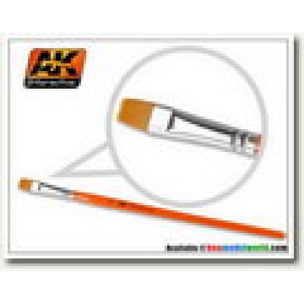AK Interactive - Flat Brush 8 Synthetic