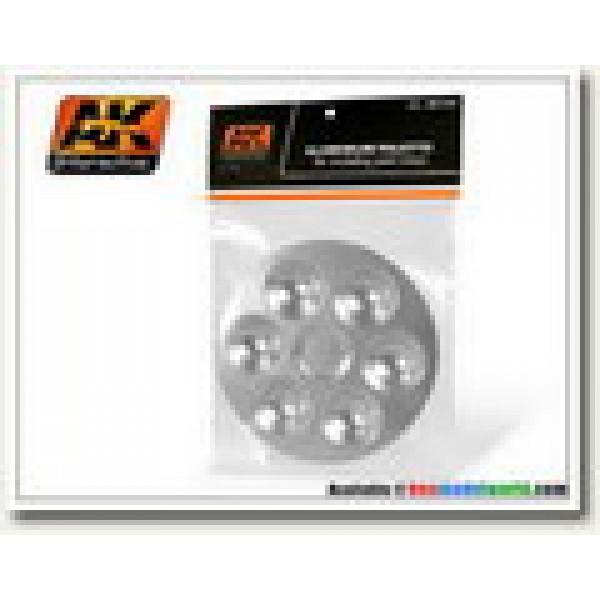 AK Interactive - Aluminium Palette 6 Wells