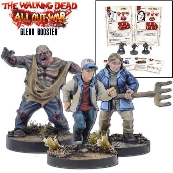 The Walking Dead - All Out War - Glenn Booster