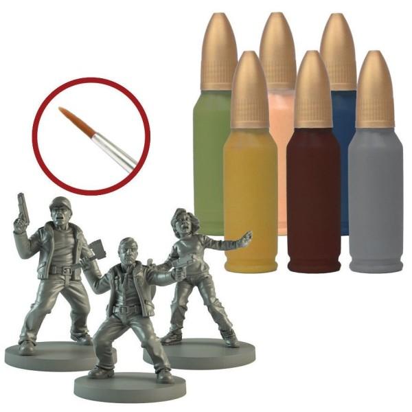 The Walking Dead - All Out War - Survivor Paint Set