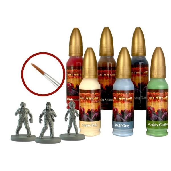 The Walking Dead - All Out War - Walker Paint Set