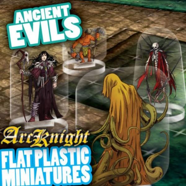 ArcKnight - Flat Plastic Miniatures - Ancient Evils