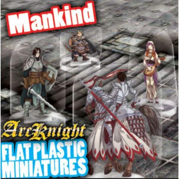 ArcKnight - Flat Plastic Miniatures - Mankind