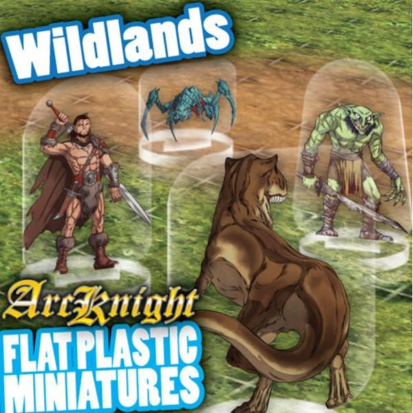 ArcKnight - Flat Plastic Miniatures - Wildlands