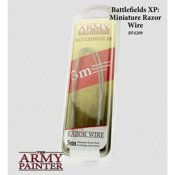 The Army Painter - Battlefields XP - Miniature Razor Wire (3m)