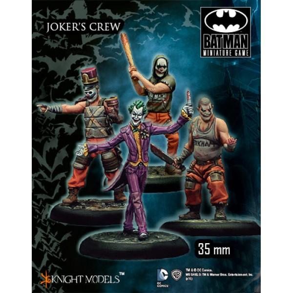 Batman Miniatures Game - JOKER Crew Starter Set