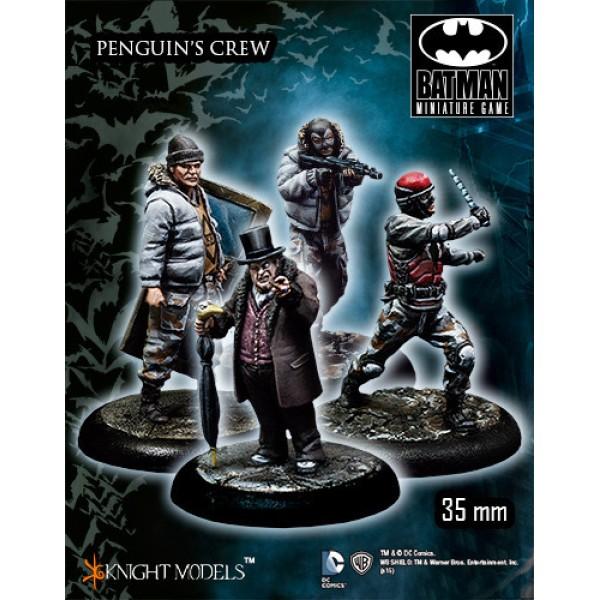 Batman Miniatures Game - PENGUIN Crew Starter Set