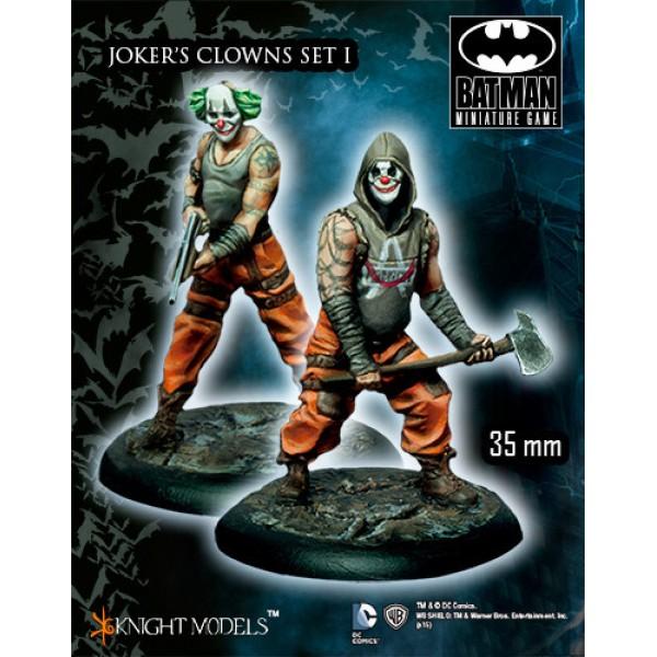 Batman Miniatures Game - JOKER's Clowns Set I